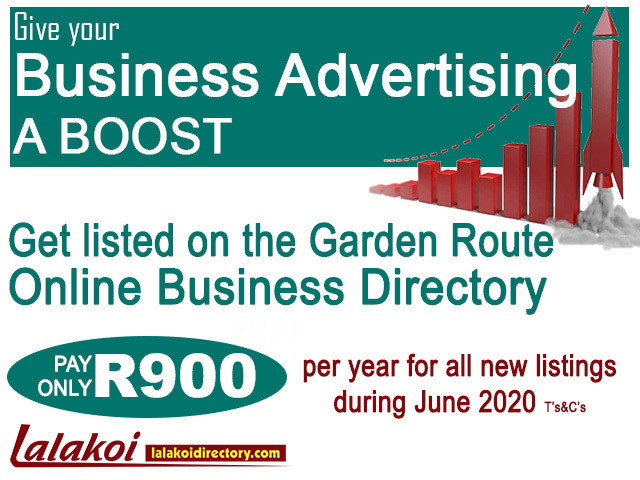 Garden Route Business Advertising a Boost