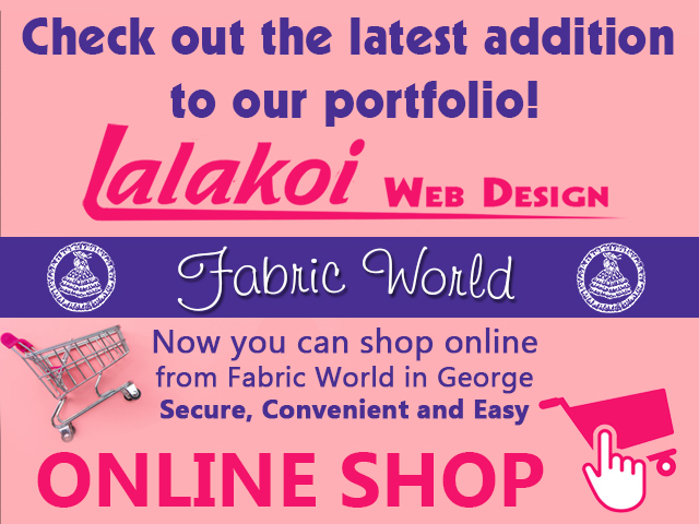 Fabric Word George Online Shop by Lalakoi